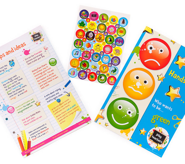 Playteachers Set stickers