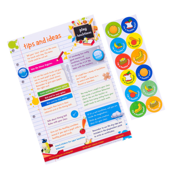 Play lunchtimes Stickers