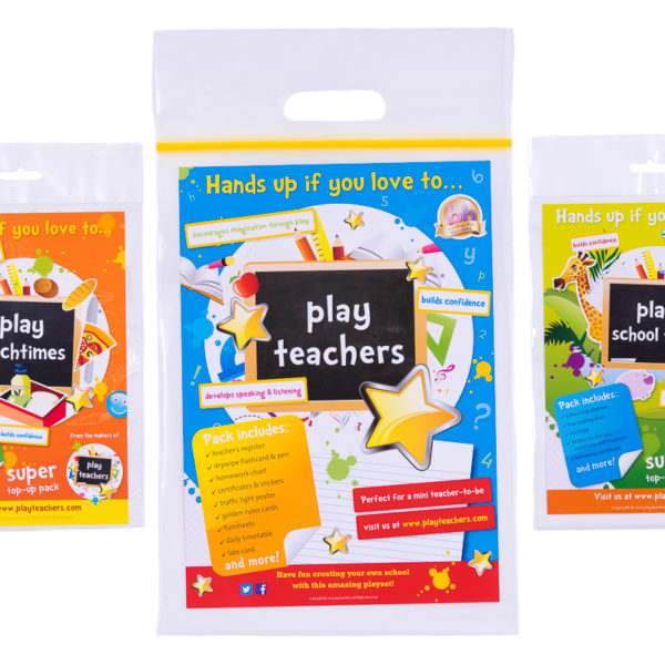 Playteachers trio Sets front cover